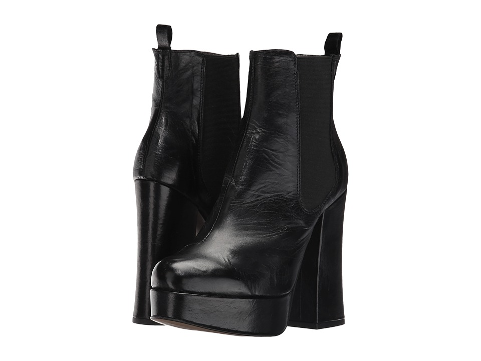 Shellys London - Toronto (Black Leather) Women's Boots