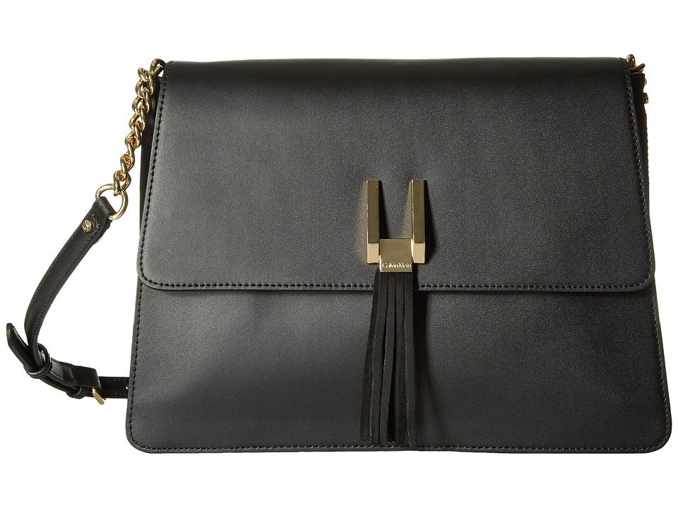 Calvin Klein - Rae Serena Messenger (Black/Gold) Messenger Bags