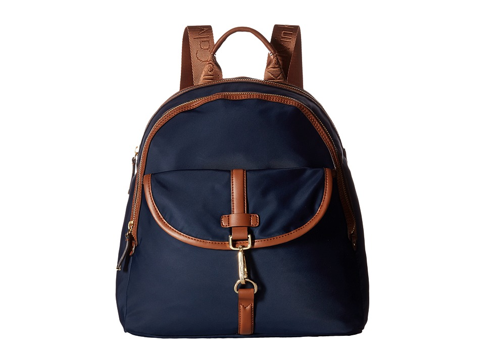 Calvin Klein - Belfast Dressy Nylon Backpack (Navy) Backpack Bags