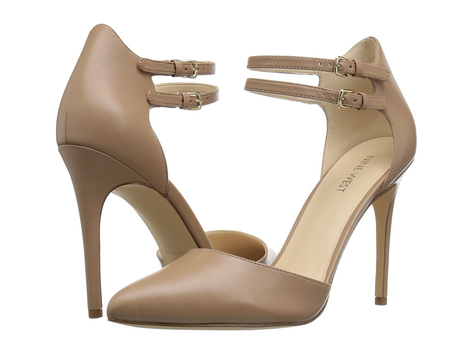 Nine West - Eastlyn (Taupe Leather) Women's Shoes