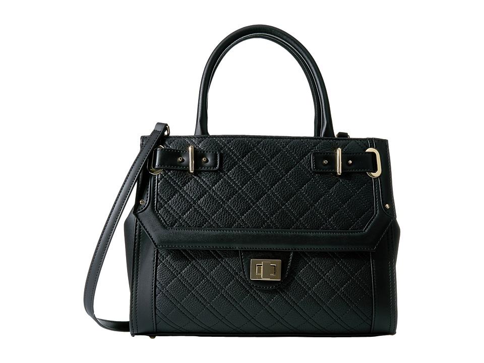 Calvin Klein - Permanent Pebble Tote (Black/Gold) Tote Handbags