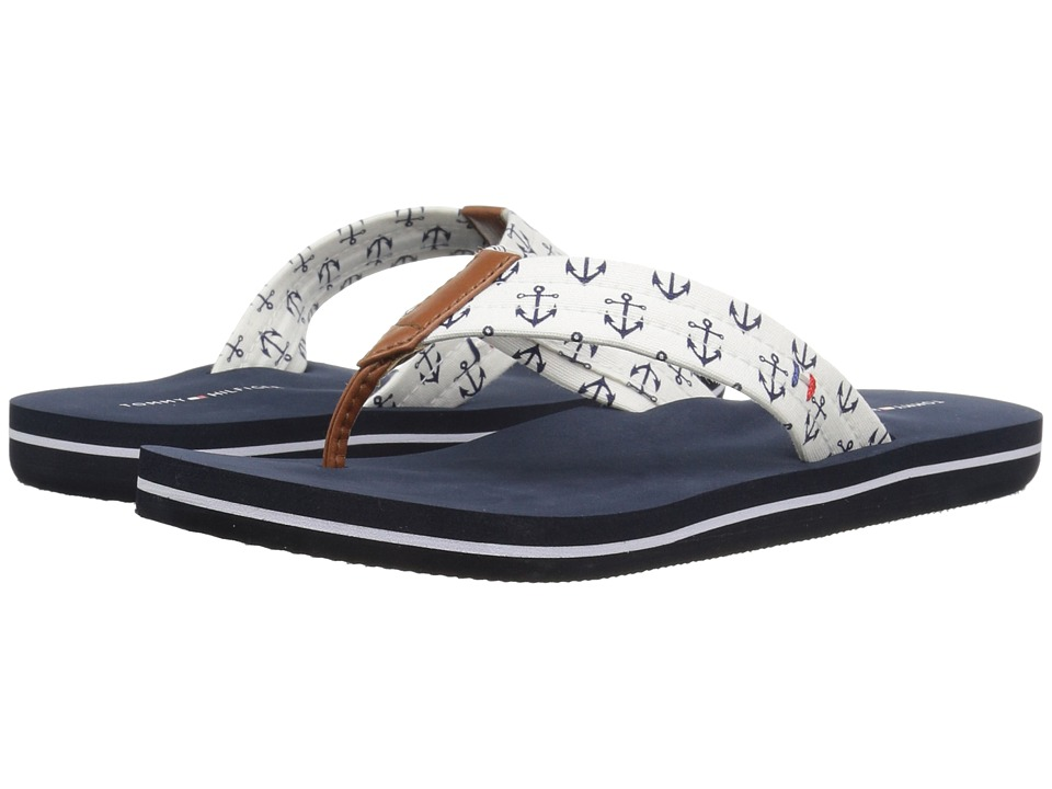Tommy Hilfiger - Carisa (Blue Multi Fabric) Women's Shoes