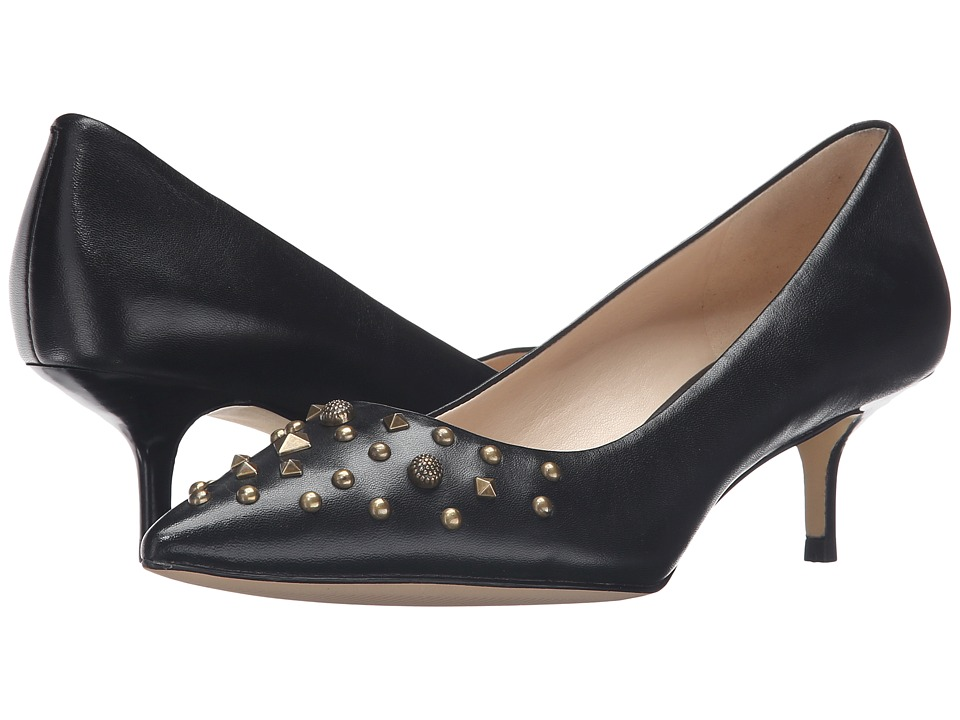 Nine West - Fault (Black Leather) Women's Shoes