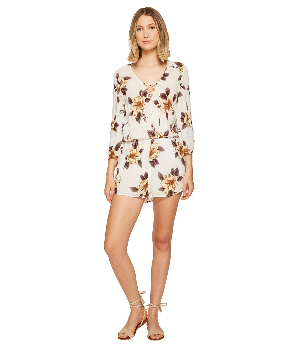 O'Neill - Neri Romper (White) Women's Jumpsuit & Rompers One Piece