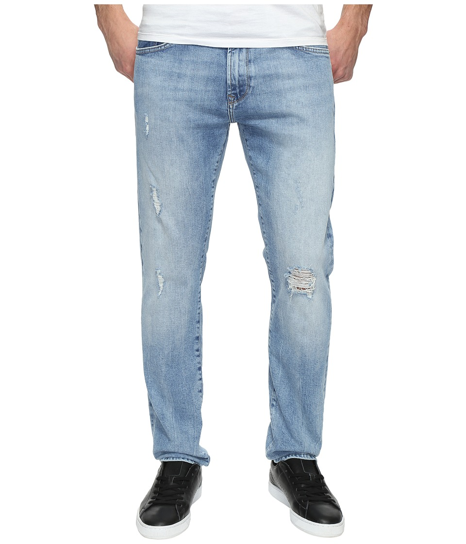 Mavi Jeans - Jake Regular Rise Slim in Light Ripped (Light Ripped) Men's Jeans
