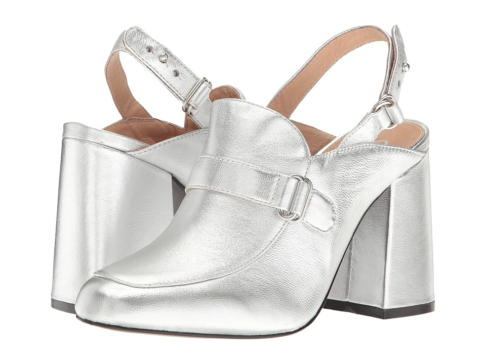 Shellys London - Charity (Silver Leather) High Heels