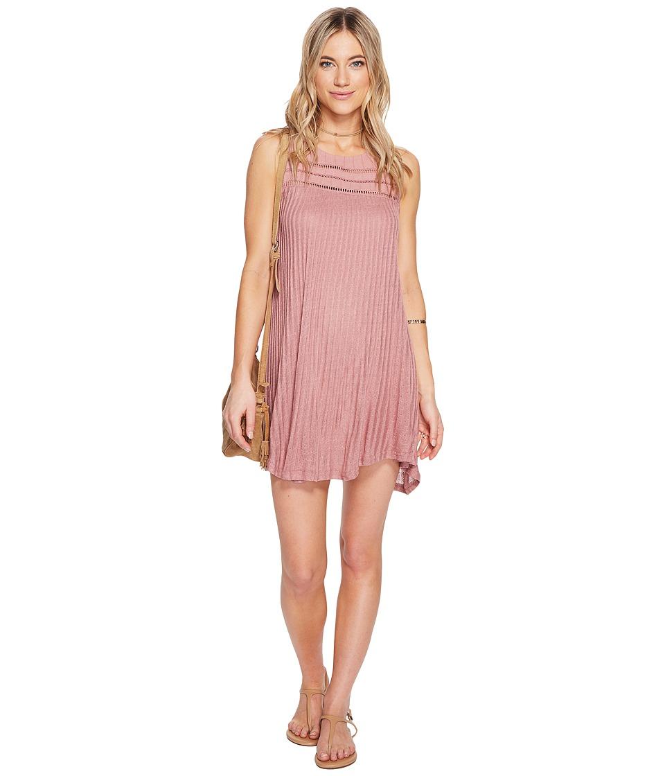 O'Neill - Maja Tank Dress (Dusty Rose) Women's Dress
