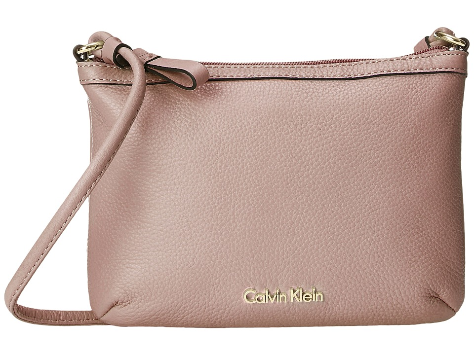 Calvin Klein - Pebble Crossbody (Sugarplum) Cross Body Handbags