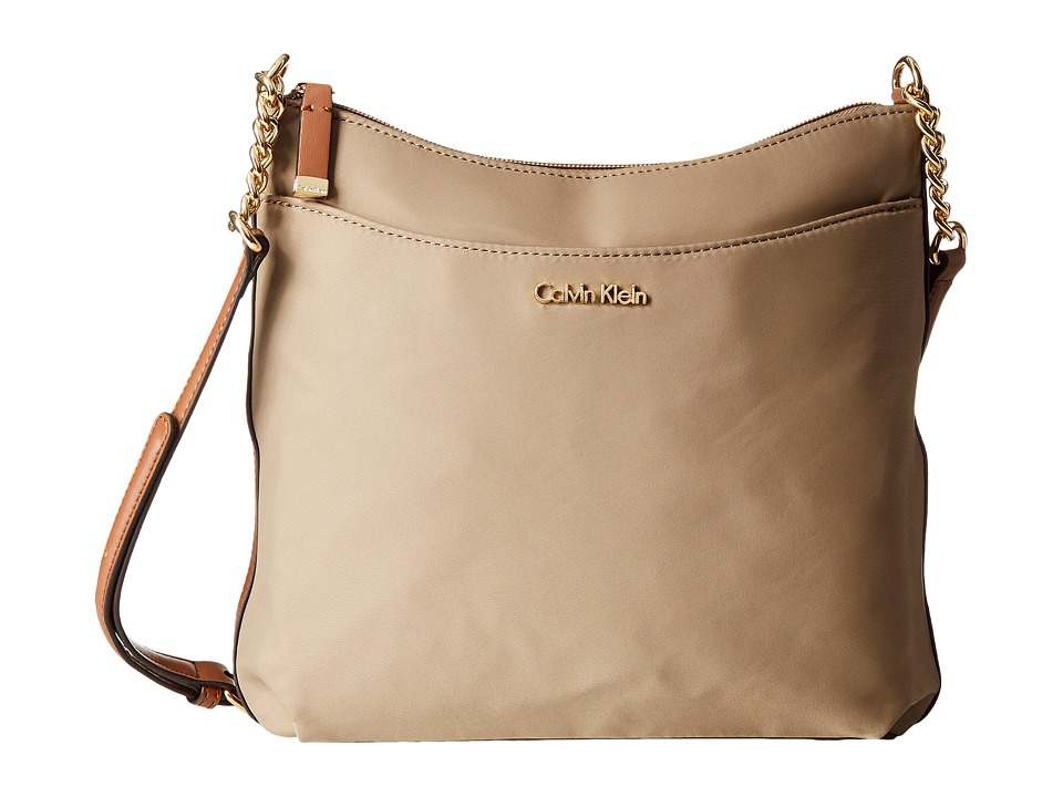 Calvin Klein - Florence Nylon Messenger (Light Khaki) Messenger Bags