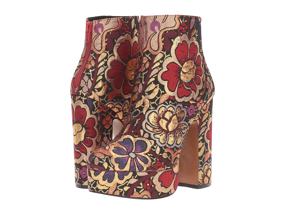 Shellys London - Chanah (Floral Multi Fabric) Women's Boots