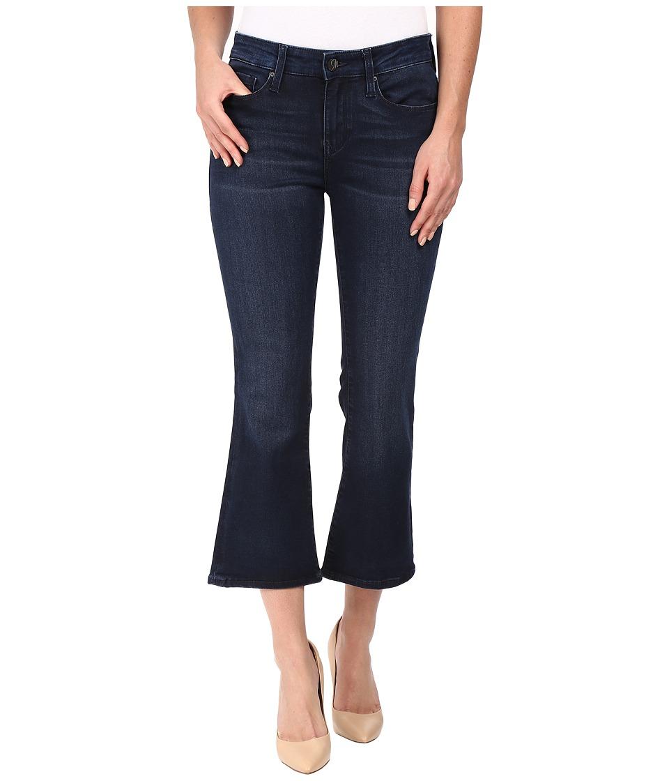 Mavi Jeans Annika Crop Flare in Ink Tribeca (Ink Tribeca) Women