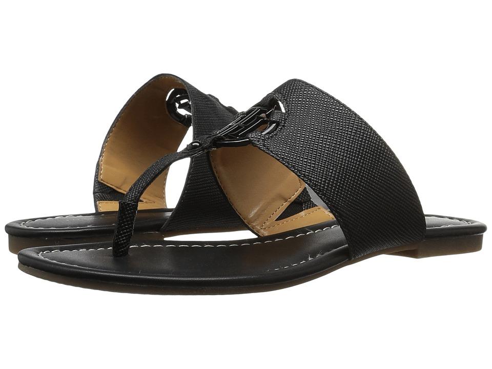 Tommy Hilfiger - Sia (Black) Women's Sandals