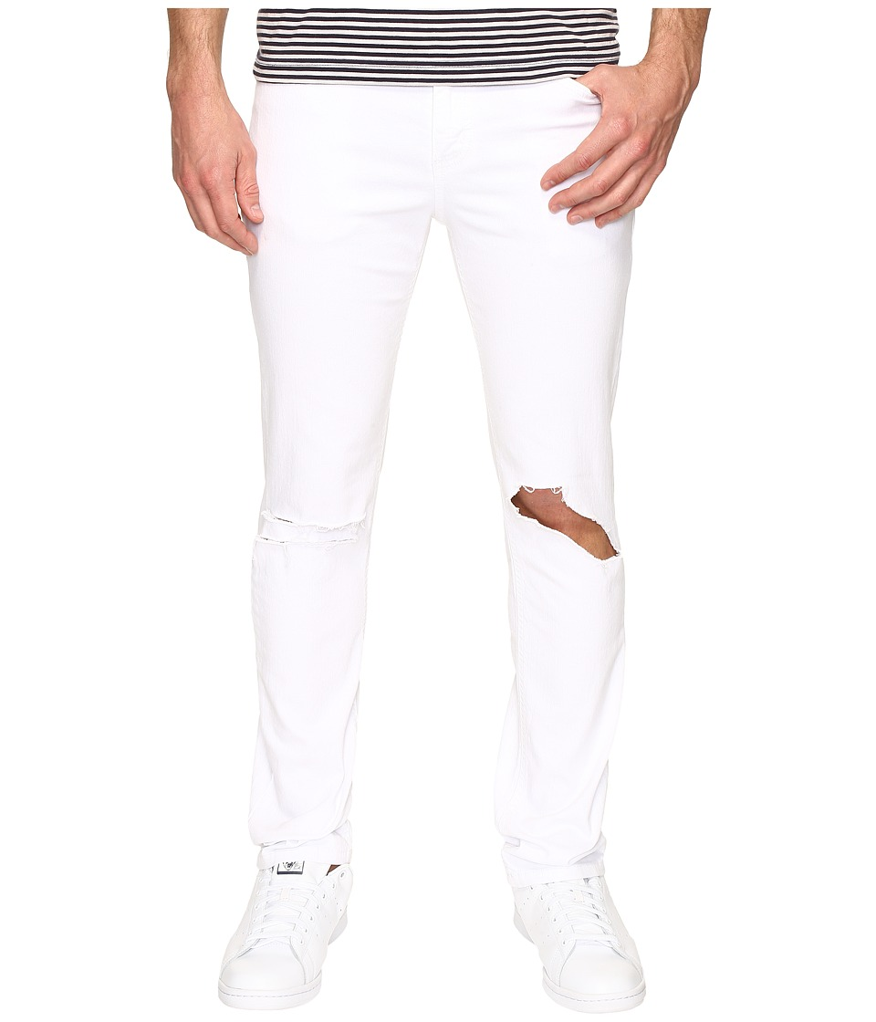 Rustic Dime - Slasher Taper Fit in White (White) Men's Jeans