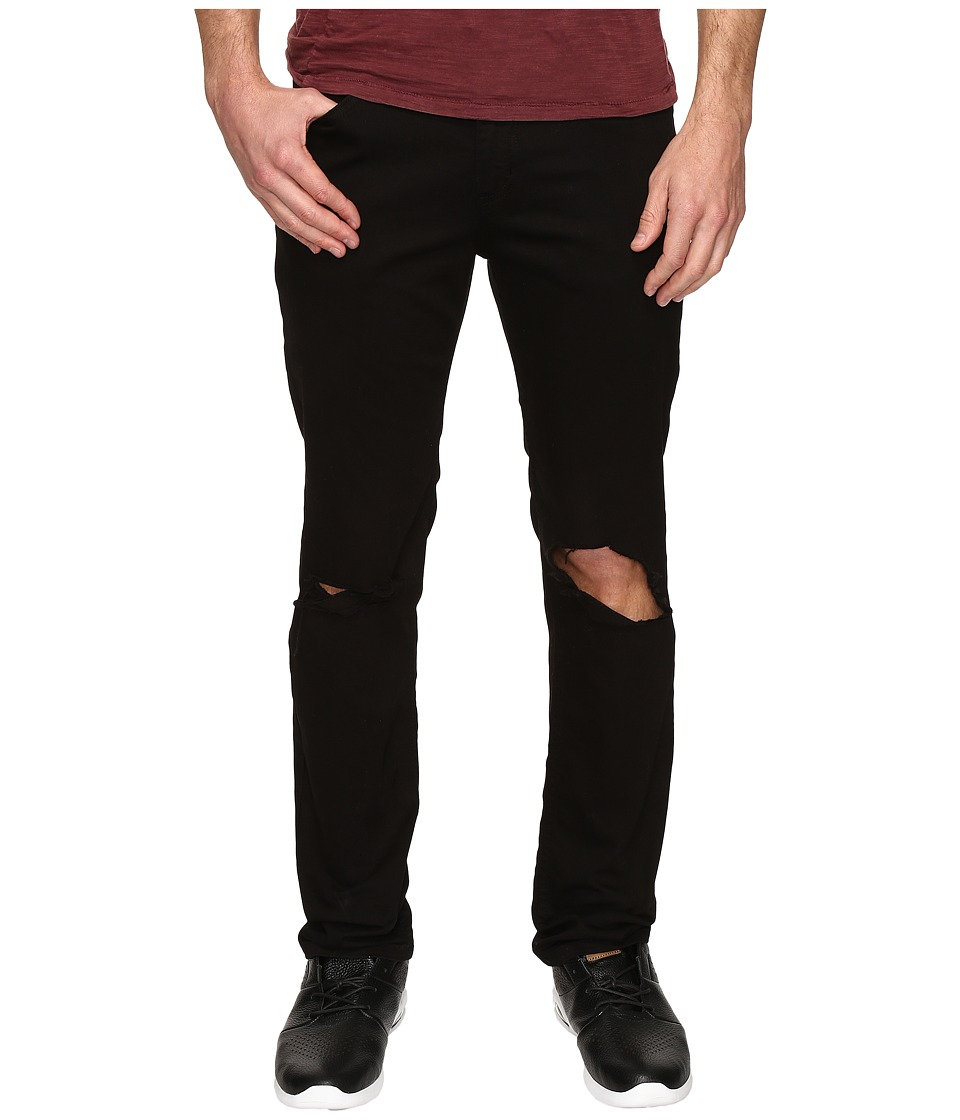 Rustic Dime - Slasher Taper Fit in Black (Black) Men's Jeans