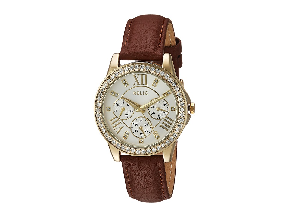 Relic - Layla (Brown/Gold) Watches