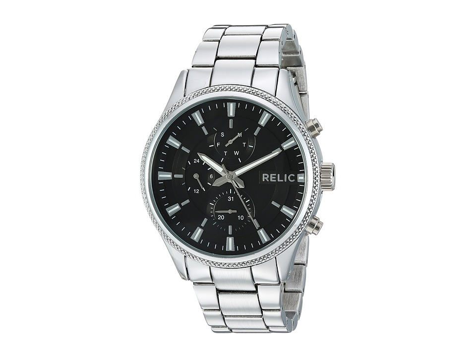 Relic - Ryan 44mm (Silver) Watches