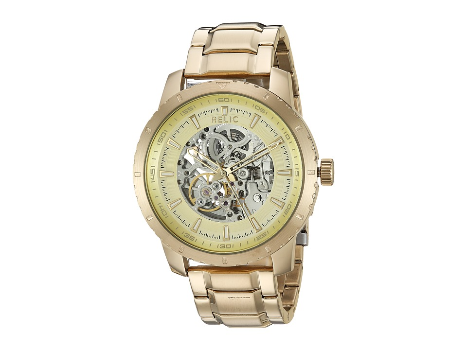 Relic - Walton 46mm (Gold) Watches