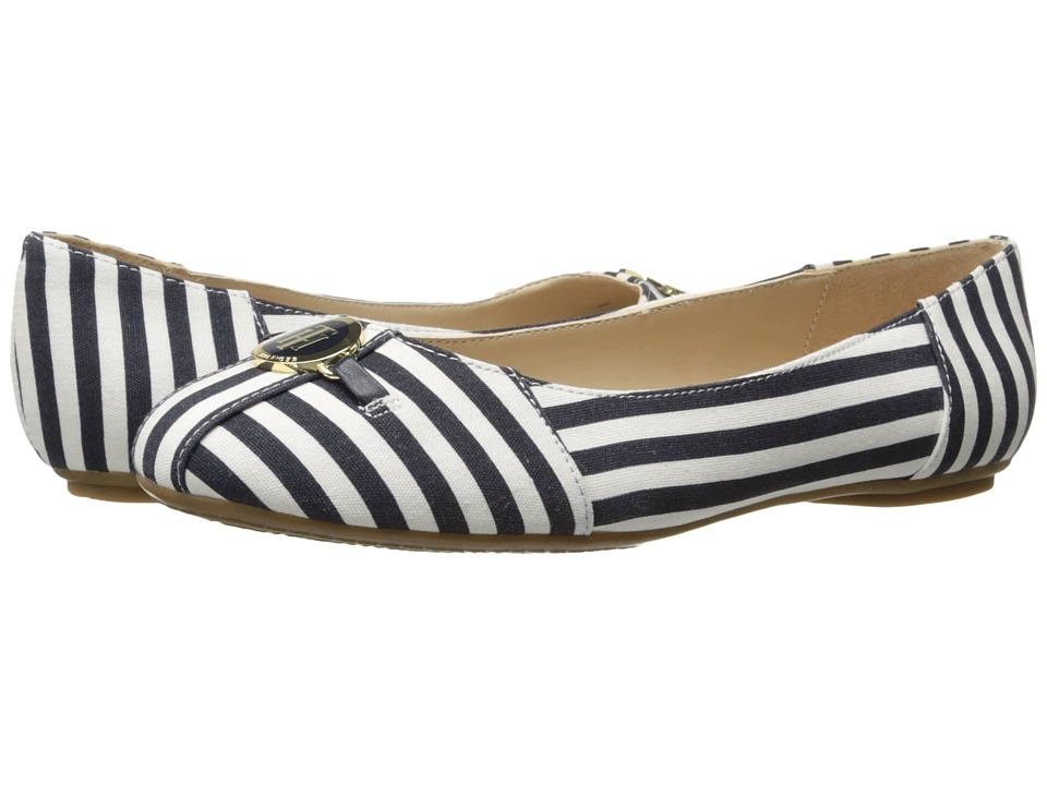Tommy Hilfiger - Primrose (Navy/White) Women's Shoes