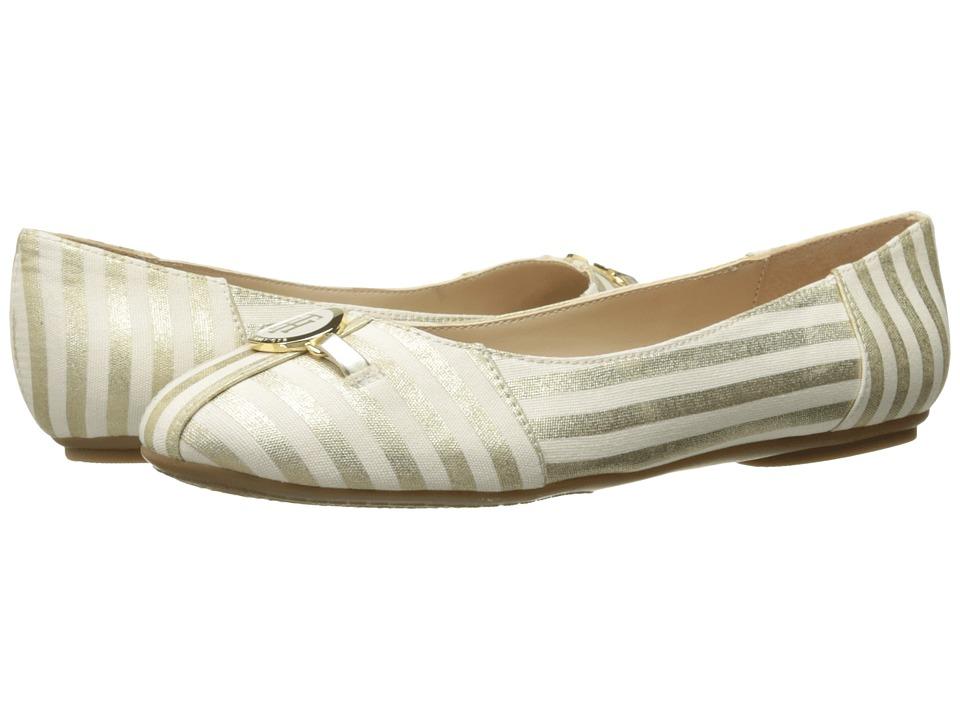 Tommy Hilfiger - Primrose (Gold/White) Women's Shoes