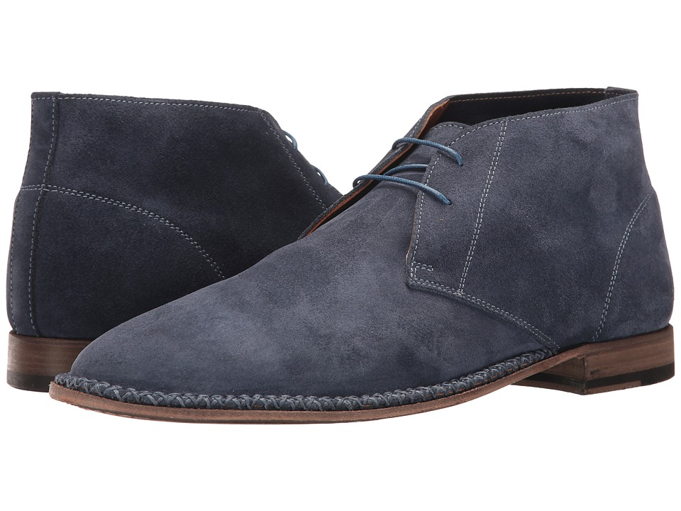 Bruno Magli Tristin (Blue Suede) Men