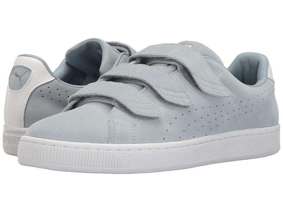 PUMA - Basket Classic Strap (Blue Fog) Men's Shoes