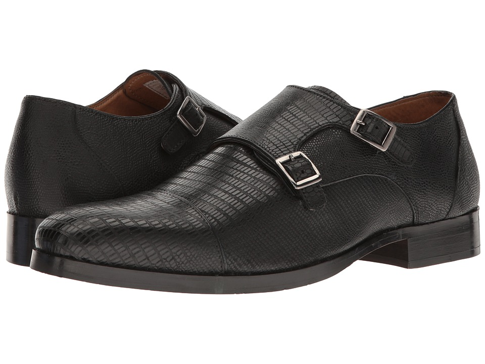Steve Madden Rocodile (Black) Men