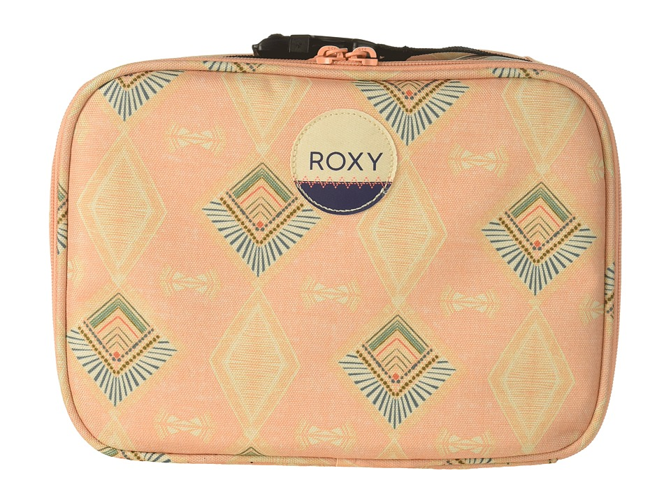 Roxy - Daily Break Lunch Bag (Peach Nectar Sunset Diamond) Wallet