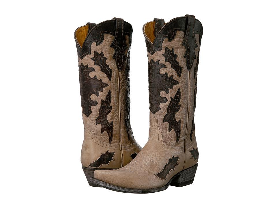Old Gringo Kissa (Bone/Chocolate) Cowboy Boots