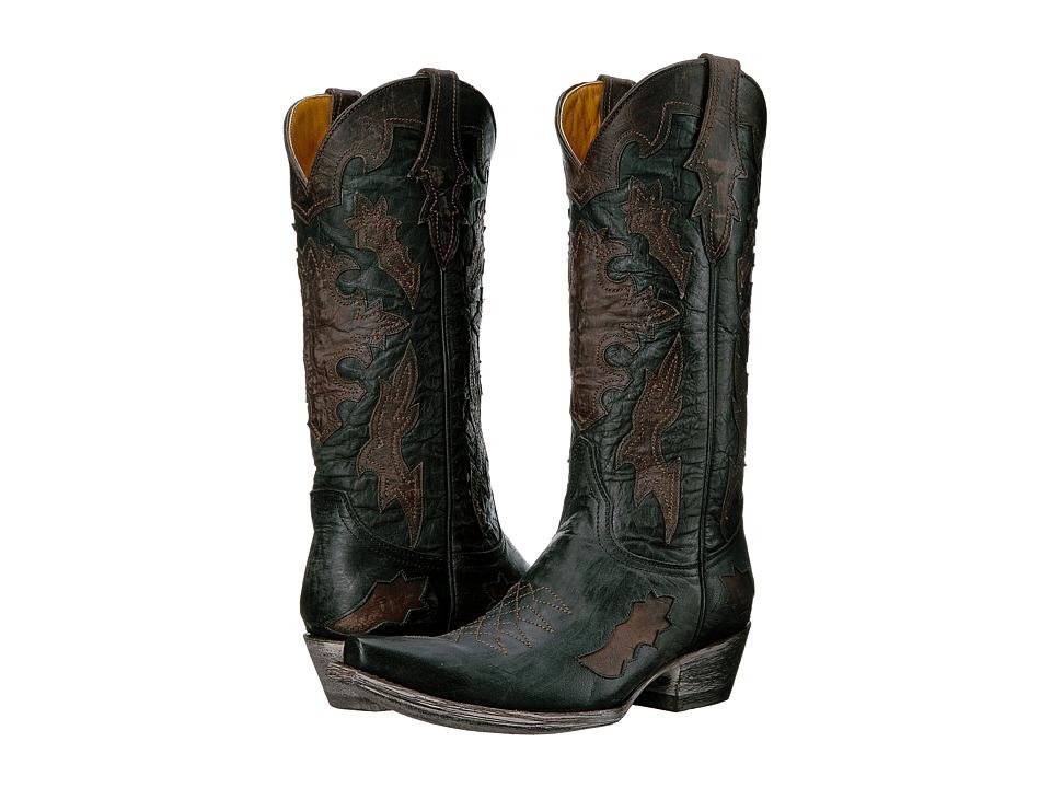 Old Gringo Kissa (Black/Chocolate) Cowboy Boots