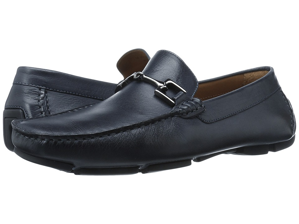 Bruno Magli - Monza (Navy) Men's Shoes