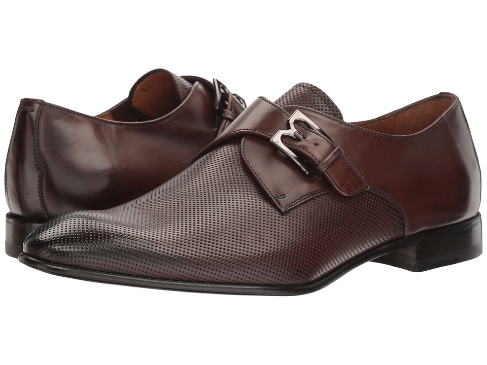 Bruno Magli Vitale (Dark Brown Perf) Men