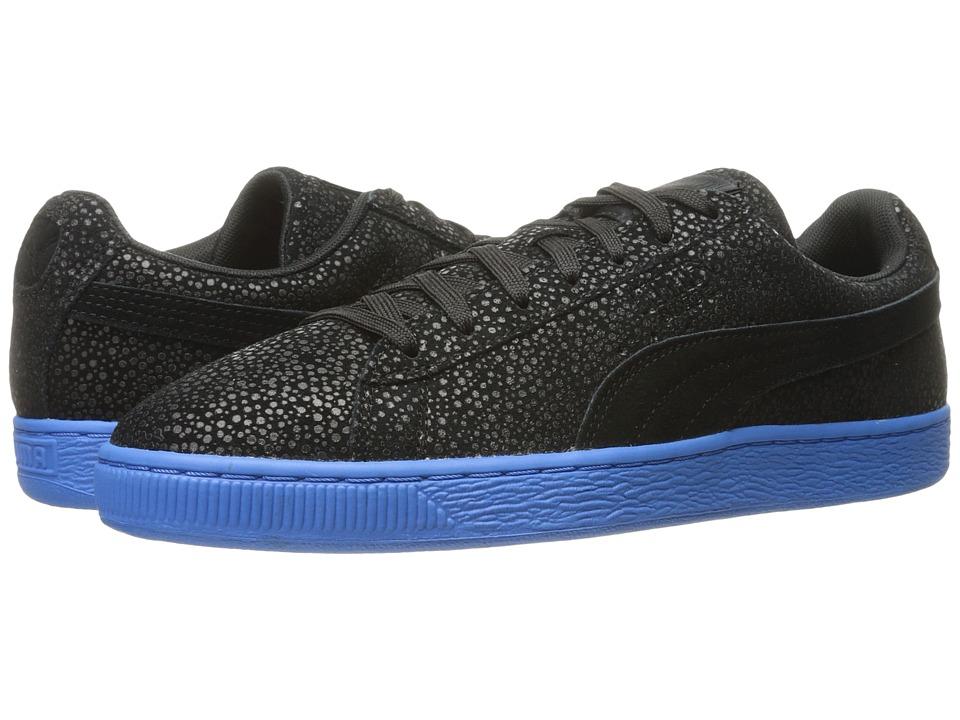 PUMA - Suede Classic Culture Surf (Puma Black/French Blue) Men's Shoes