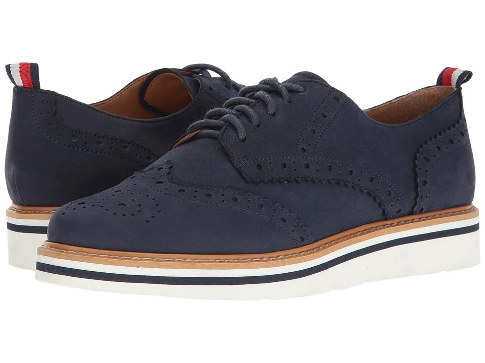 Tommy Hilfiger - Kabriele (Dark Blue Nubuck) Women's Shoes