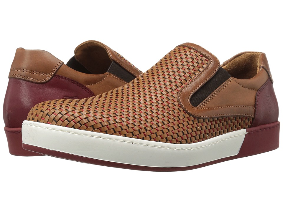 Bruno Magli - Rimini (Cognac Woven) Men's Shoes