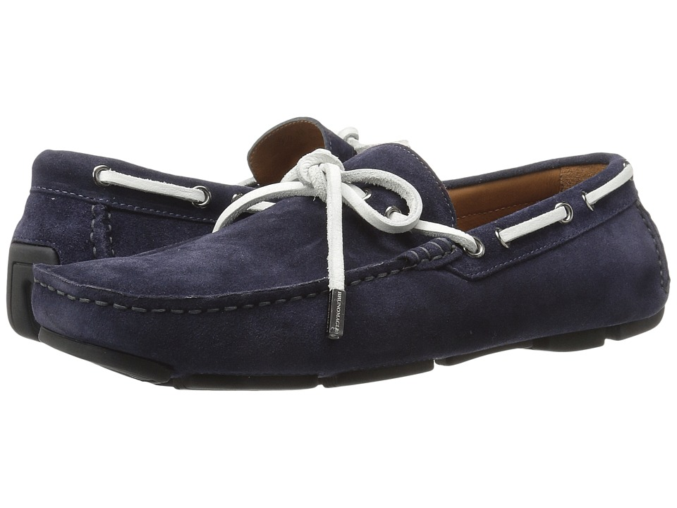 Bruno Magli Morotta (Navy Suede) Men