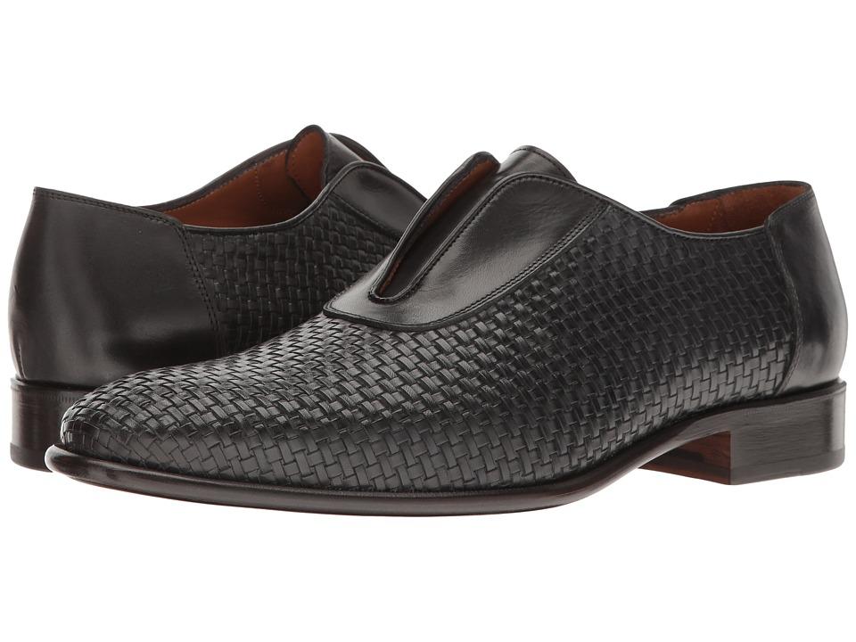 Bruno Magli - Willis (Navy Woven) Men's Shoes