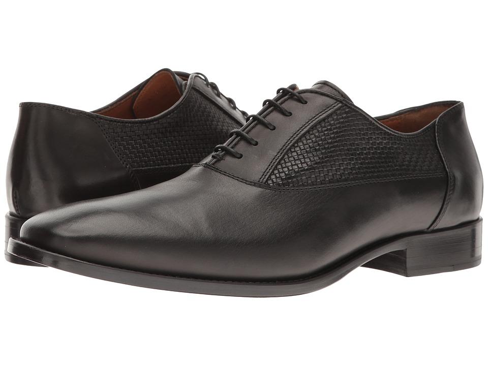 Bruno Magli - Tomaso (Black Woven) Men's Shoes