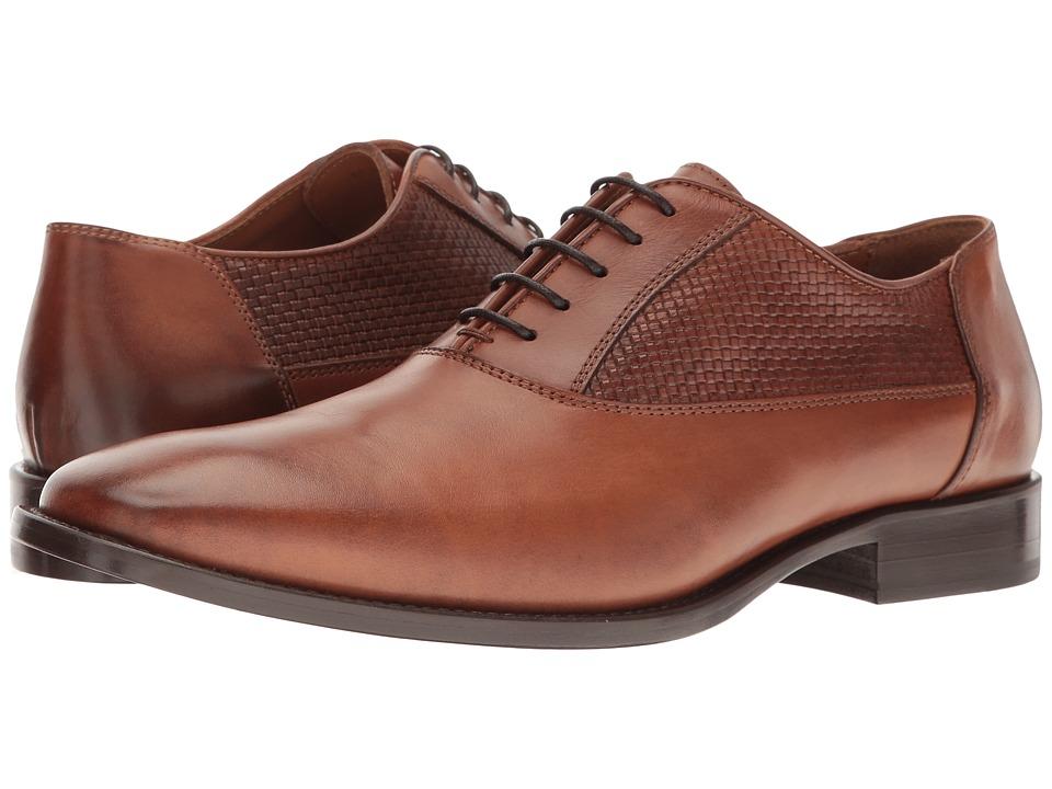 Bruno Magli - Tomaso (Cognac Woven) Men's Shoes