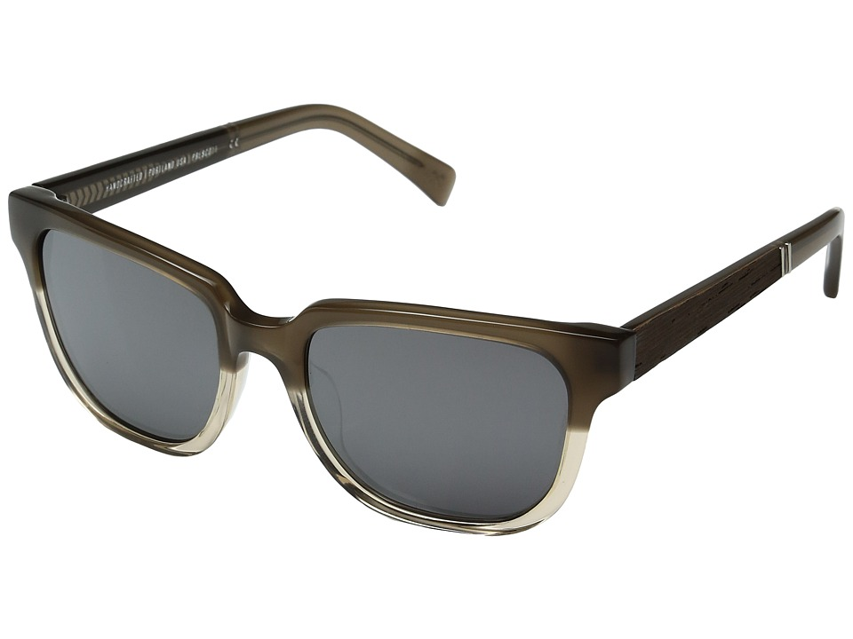 Shwood - Prescott (Chai/Ebony/Silver Mirror) Fashion Sunglasses