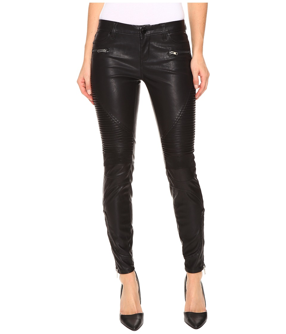 Blank NYC - Vegan Leather Moto Skinny Jeans in Daddy Soda (Daddy Soda) Women's Jeans