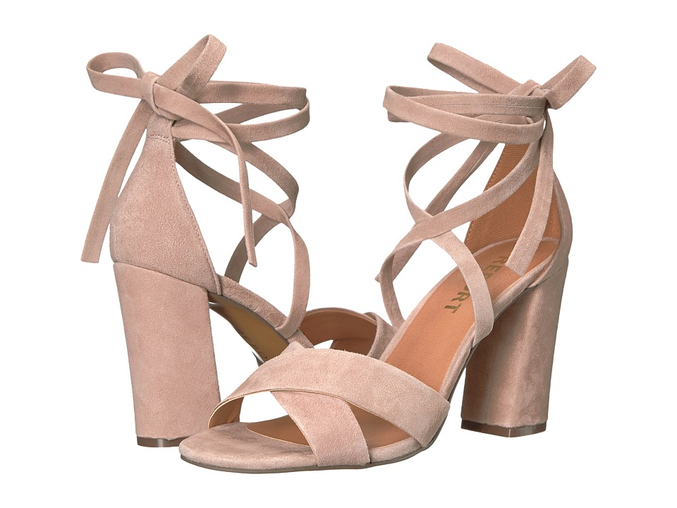 Report Mara (Nude Suede) High Heels