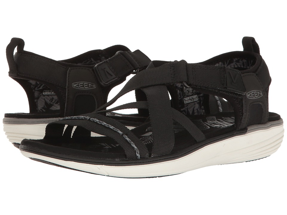 Keen - Maya Strap (Black/Gargoyle) Women's Shoes