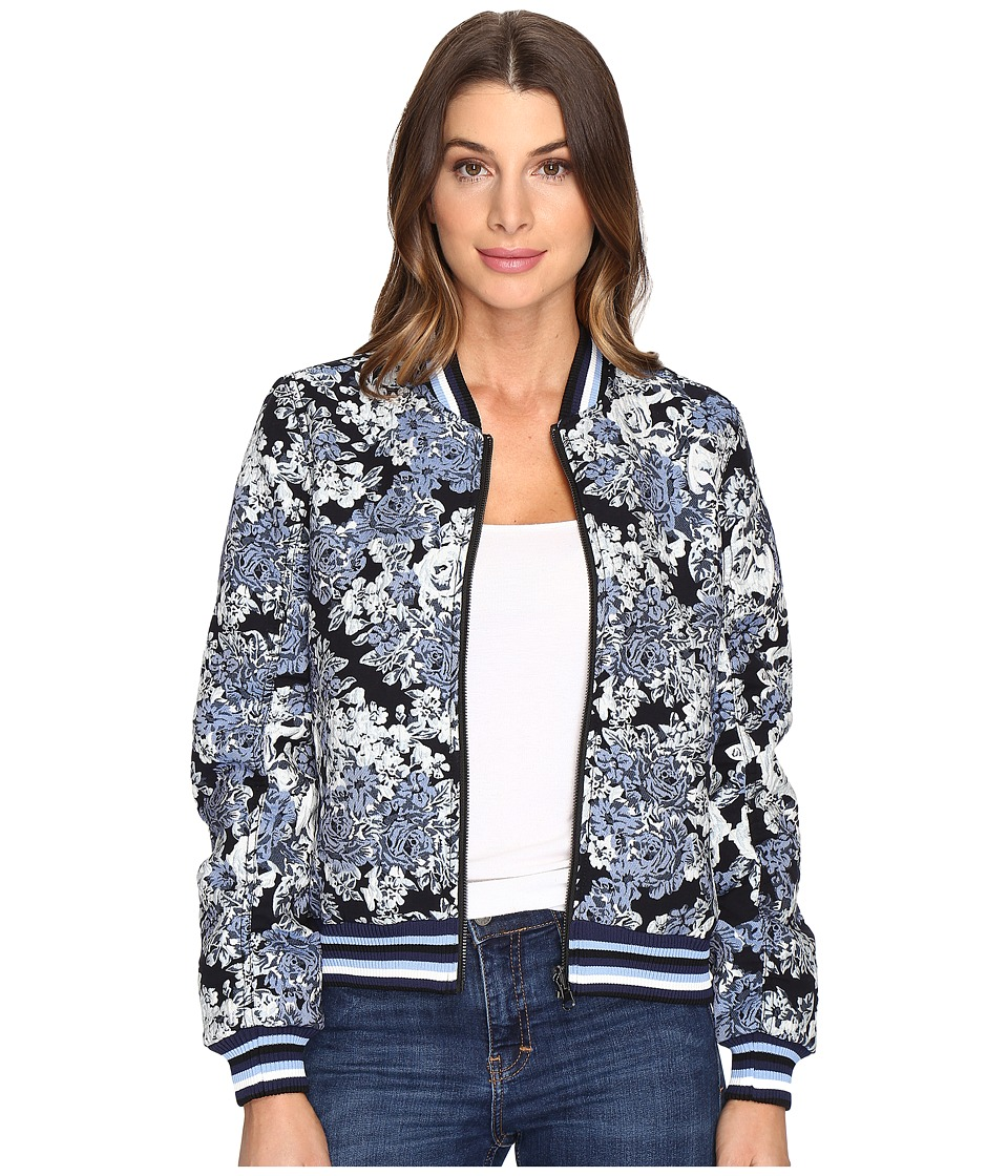 Blank NYC - Floral Bomber Jacket in Most Wanted (Most Wanted) Women's Coat