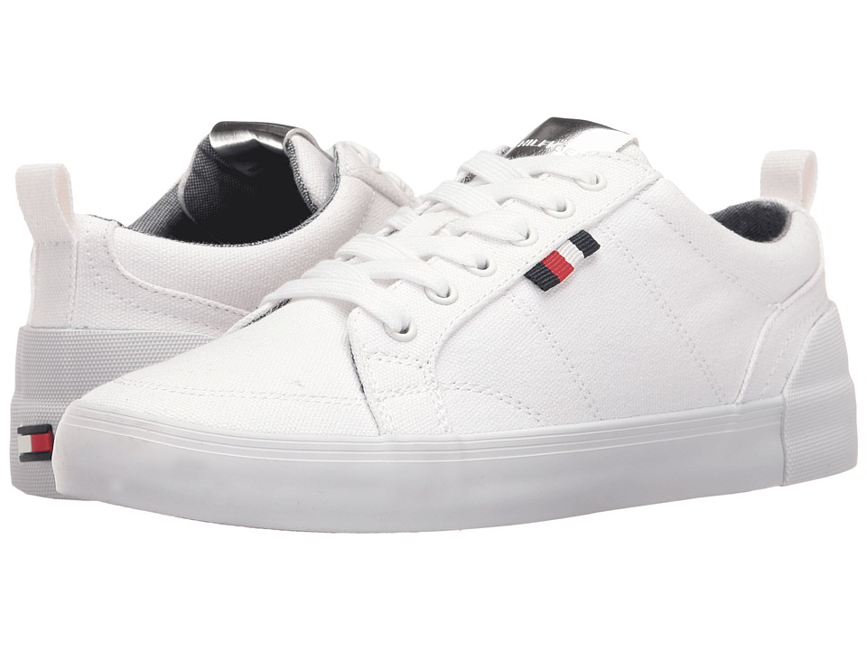 Tommy Hilfiger Priss (White Multi Fabric) Women