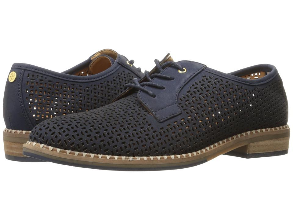 Tommy Hilfiger - Raenay (Dark Blue Nubuck) Women's Shoes