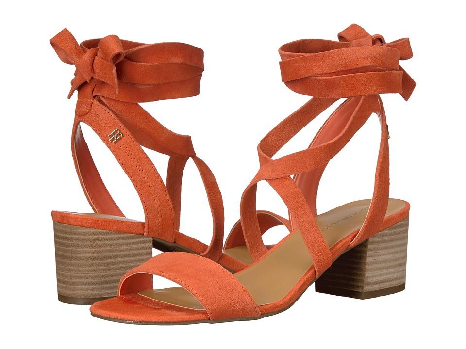 Tommy Hilfiger - Zim (Fa Orange/Fa Orange/ZH Cow Suede) Women's Shoes
