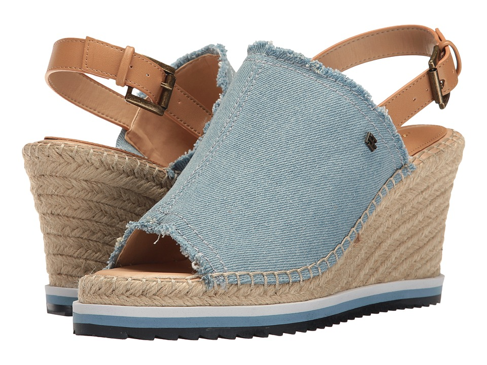 Tommy Hilfiger - Yolanda (Light Blue Fabric) Women's Shoes