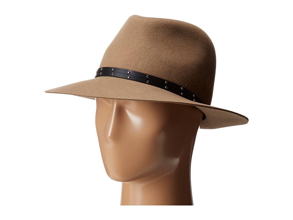 rag & bone - Floppy Brim Fedora (Camel) Fedora Hats