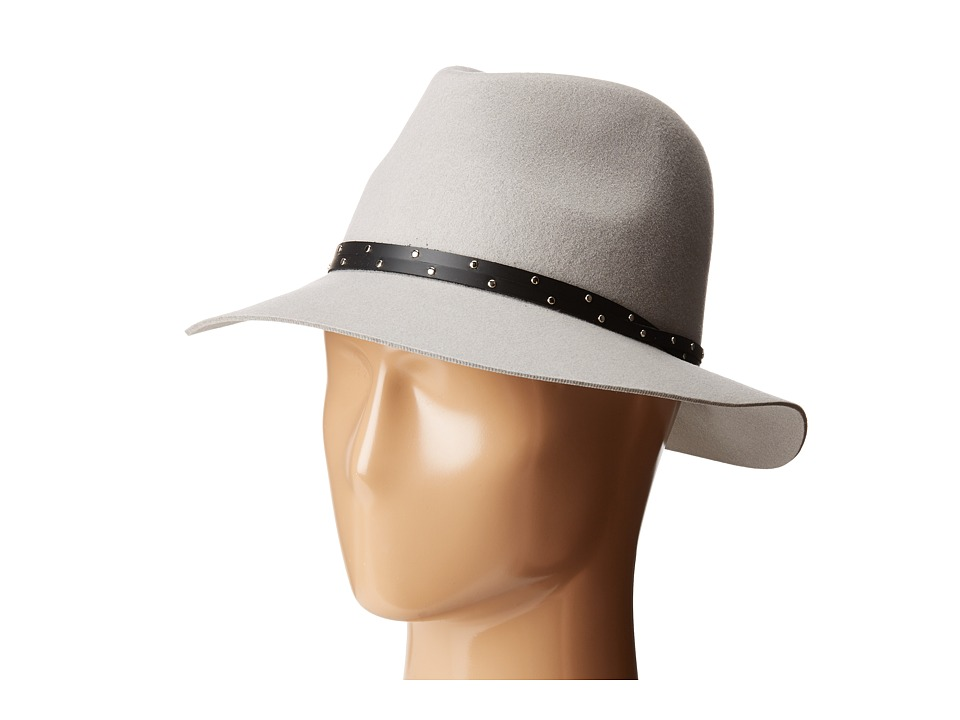 rag & bone - Floppy Brim Fedora (Pale Grey) Fedora Hats