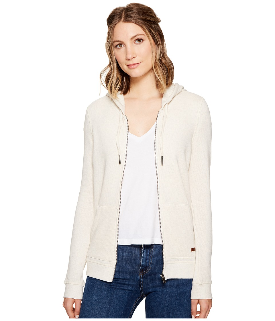 Roxy - Signature Hoodie (Metro Heather) Women's Sweatshirt